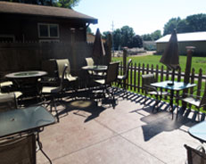 Outdoor Patio at Trailblazer Bar & Grill