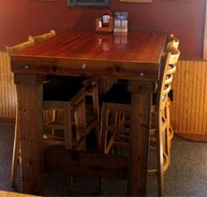 Hightop Table Seating - Trailblazer Bar & Grill