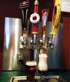 Beer Taps - Trailblazer Bar & Grill in Madison Lake, MN