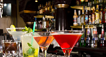 Group of colorful cocktails | Bar
